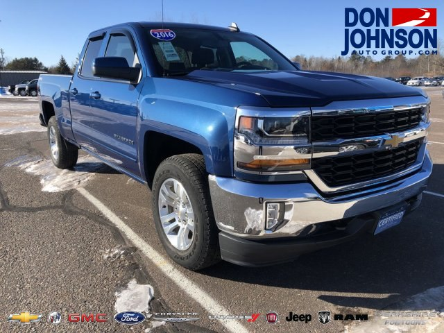 Certified Pre-Owned 2016 Chevrolet Silverado 1500 LT w/1LT