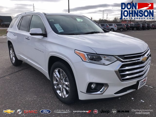 New 2019 Chevrolet Traverse High Country Suv In H19026 Don