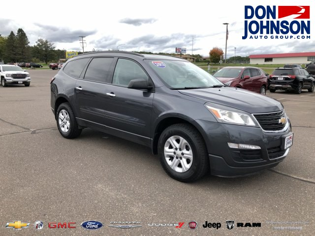 Pre Owned 2013 Chevrolet Traverse Ls Suv In R133561a Don Johnson