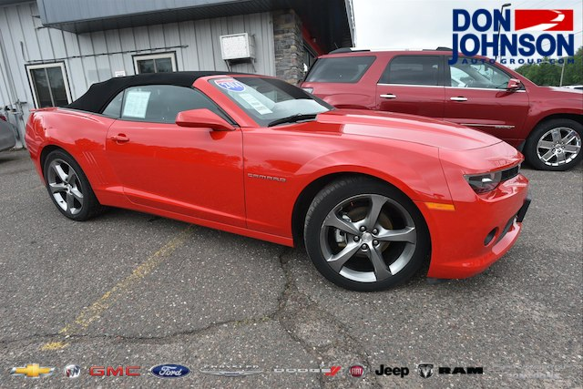 Pre Owned 2014 Chevrolet Camaro Lt Convertible In C18226a Don