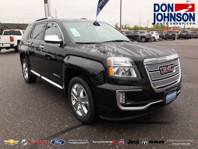 Certified Pre Owned 2016 Gmc Terrain Denali Suv In H18102a Don
